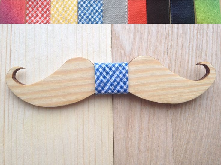 Wooden bow-tie unique gift Oak wood  bow tie Handcrafted Handmade wedding accessories accessory men women mustaches (29.00 USD) by TheGentleWood