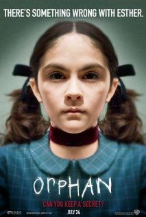 Orphan (2009), Warner Bros. Pictures, Dark Castle Entertainment, and Appian Way with Vera Farmiga, Peter Sarsgaard, and Isabelle Fuhrman. Good movie.