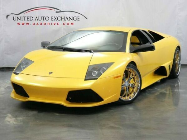 2008 Lamborghini Murcielago Lp640 E Gear Coupe With Low Miles Lamborghini Murcielago Lamborghini Sports Cars Luxury