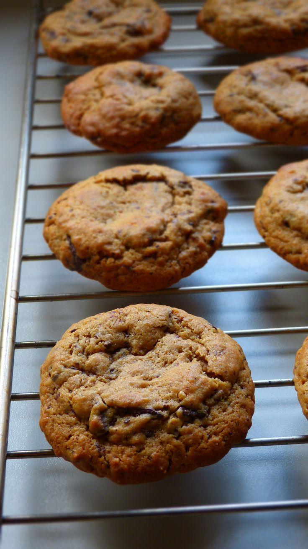 Cookies ultra fondants au beurre de cacahuètes et pépites de chocolat noir
