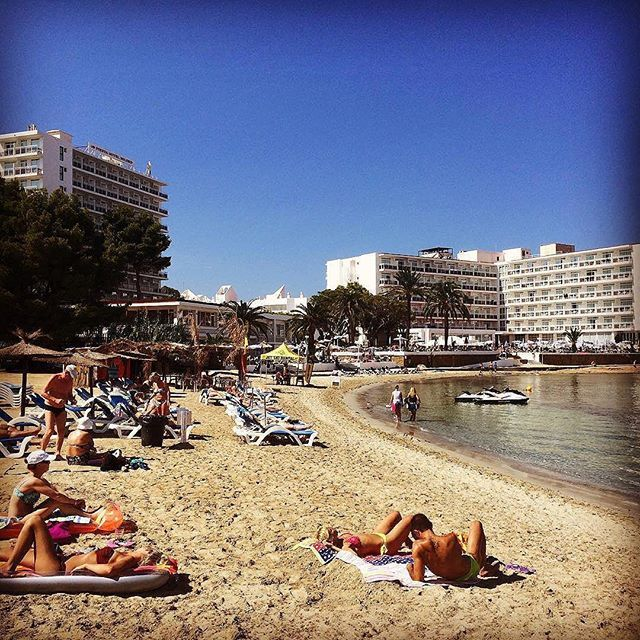 Great to have the weather back with us in #Ibiza, you had us worried the past few days!