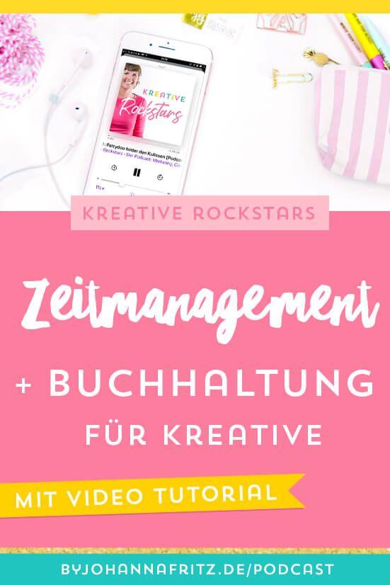 Zeitmanagement Und Buchhaltung Fur Kreative Video Tutorial