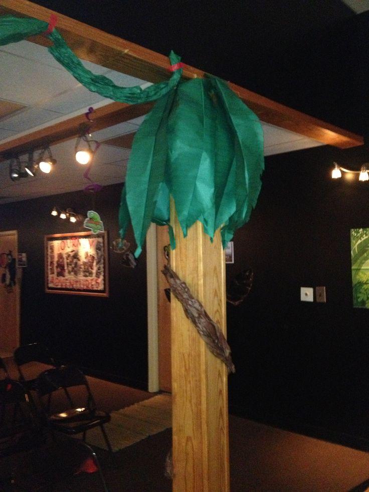Jungle jaunt decor