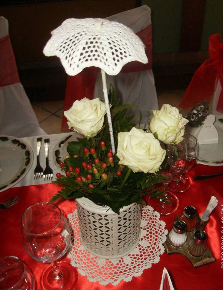 #reddeco #red #lace #lacedeco #veridekor #rose #wedding