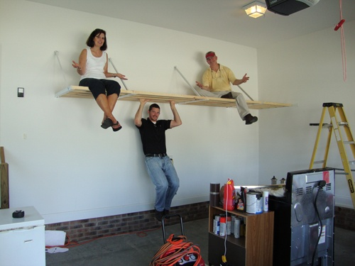 Dependable, sturdy Rhino Shelf is easy-to-install and American-made.