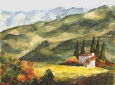 """Saatchi Art Artist Maga Fabler; Painting, """"Perugia"""" #art"""