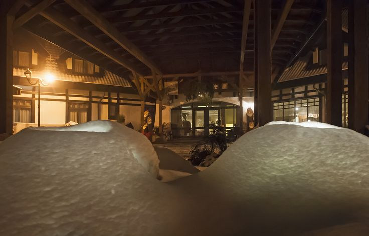 Winter in the Hotel WARMIA PARK Poland Pluski near Olsztyn, Warmia and Masuria