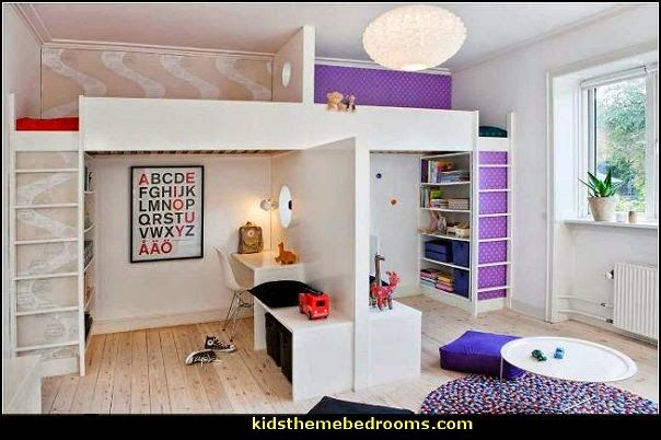Shared bedrooms ideas decorating shared bedrooms for Sibling bedroom ideas