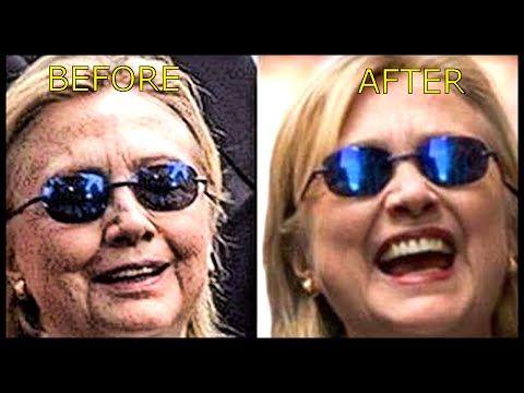 Hillary Clinton Body Double/Clone Analysis! #HillarysBodyDouble Trending! News Reports of her Death! - YouTube
