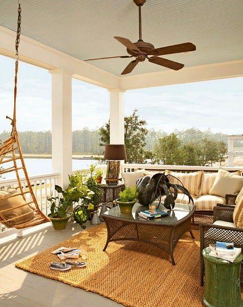 414 best Outdoor Coastal Decor & Living images on ... on Beach House Patio Ideas id=51235