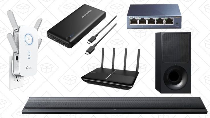 Thursdays Top Deals: TP-Link Gold Box Sony Sound Bar USB-C Battery Pack and More