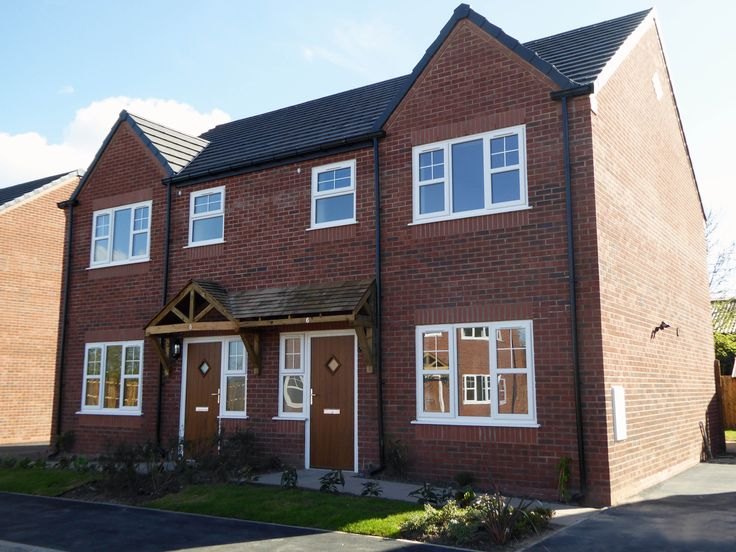 Poole Fields Brakeley Lane Little Leigh 8 Affordable Family Houses For Rent And Shared Ownership On Behalf Of Muir Group Housing Association
