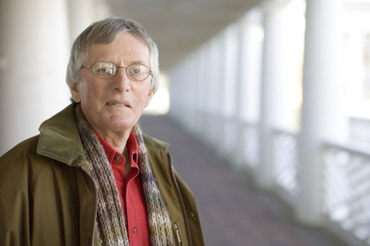 Poet Charles Wright. Photo by Dan Addison/University of Virginia
