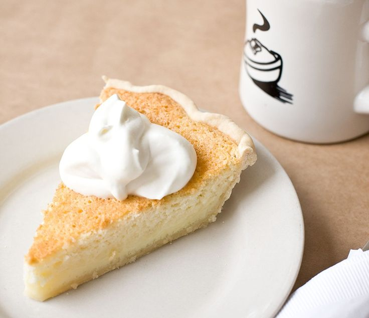 Robert Stehling's Buttermilk Pie