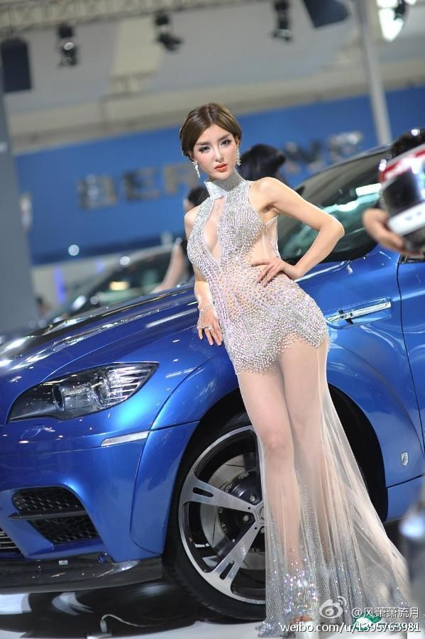 Chinese Auto Show Bmw Car Models Li Yingzhi 09 And Pinterest Model Dresseost Beautiful