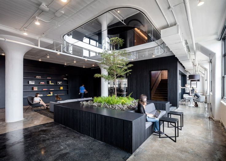 """A+I uses """"yin-yang"""" palette for Squarespace headquarters in New York"""