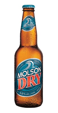 Molson Dry Bottle