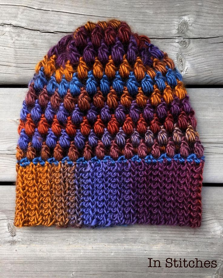 "48 Likes, 7 Comments - Stacey L (@inslstitches) on Instagram: ""Loving this yarn!! Used Lion Brand Landscapes in Mountain Range to work up this gorgeous hat …"""