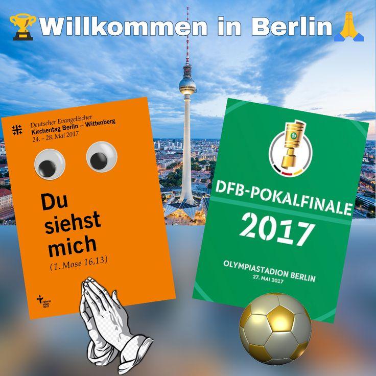 Viel Spass und nehmt euch noch etwas Zeit für den besten Geschenkeladen von Berlin.  #dekt17 #kirchentag #pokalfinale #SGEBVB #SGE #BVB