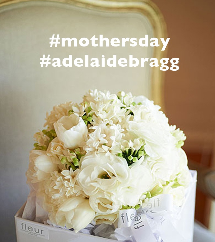 Adelaide Bragg would love to help you celebrate your mum this Mother's Day with a gorgeous flower bouquet from the amazing Fleur Florist in Armadale, Melbourne.  To win this Fleur bouquet for your mum, follow Adelaide Bragg on instagram or pinterest and tag #mothersday and #adelaidebragg in one of your photos.  Follow us on Instagram here : http://instagram.com/adelaidebragg  Good luck!  Entries open from Wednesday 1st May until Wednesday 8th May 2013.