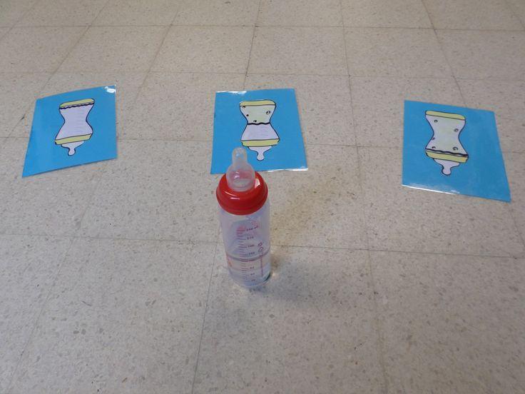 thema 'de baby': hoe vol is het flesje?