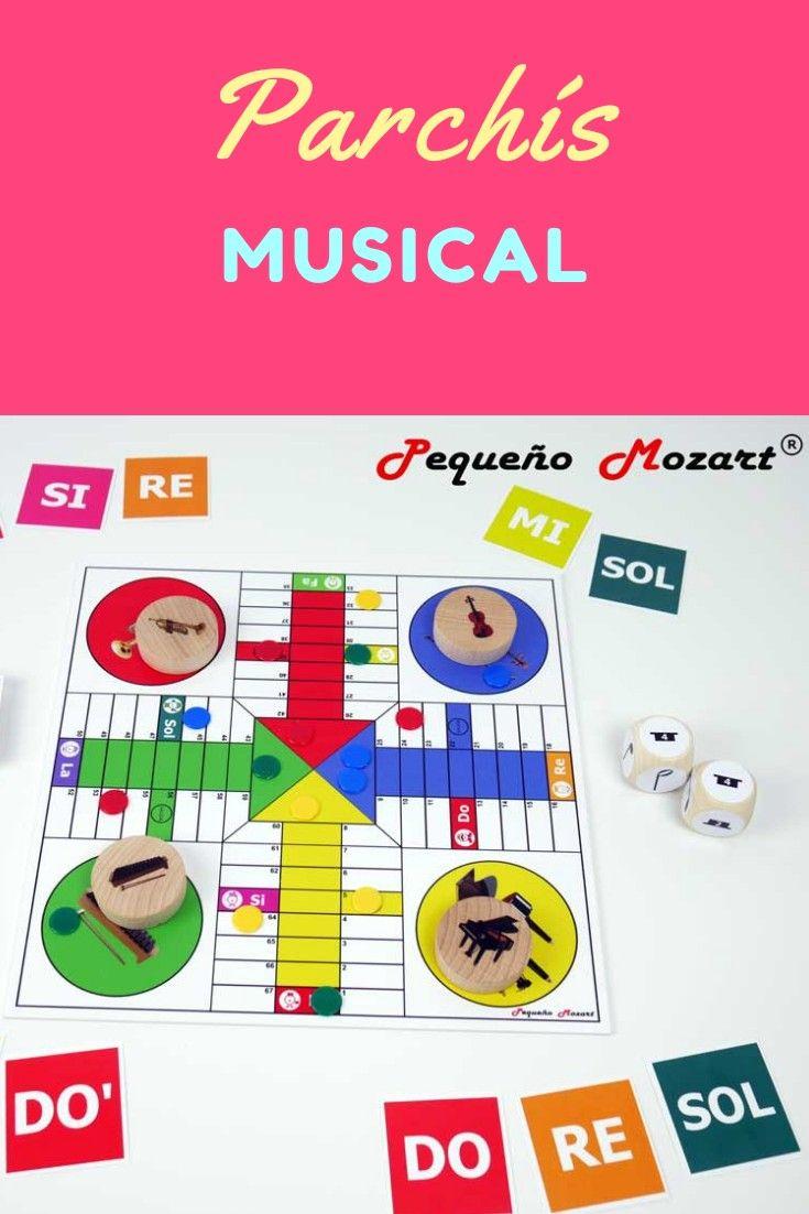 Parchís Musical Pequeño Mozart Pequeño Mozart Juegos De Música Musica Para Niños Actividades Musicales