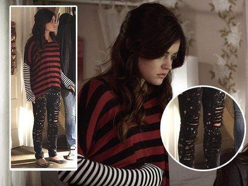 Aria Montgomery Outfits ; PLL ; Lucy Hale