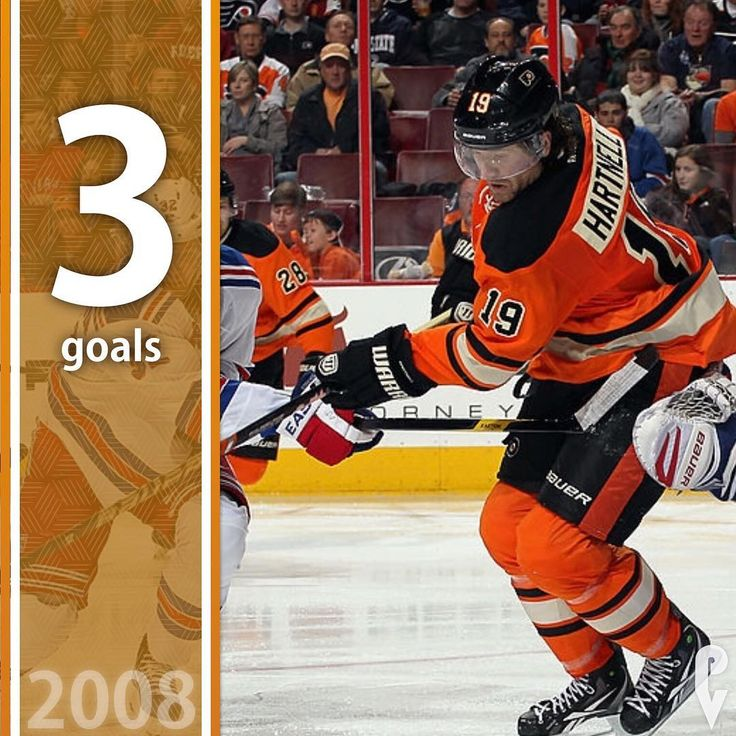 January 10 2008 Scott Hartnell scores the hat trick and the win! The Flyers beat the Rangers on the road 6-2. . . . . #flyers #letsgoflyers #philadelphiaflyers #philly #instagood #winter #hockey #philly #philadelphia #nowplaying #phillysports #phillyvault #nhl #stanleycup #otd