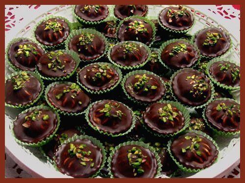 Cokoladove kosicky s kremem