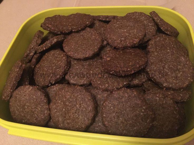 Ricetta biscotti frolla canapa, farro e riso Kenwood