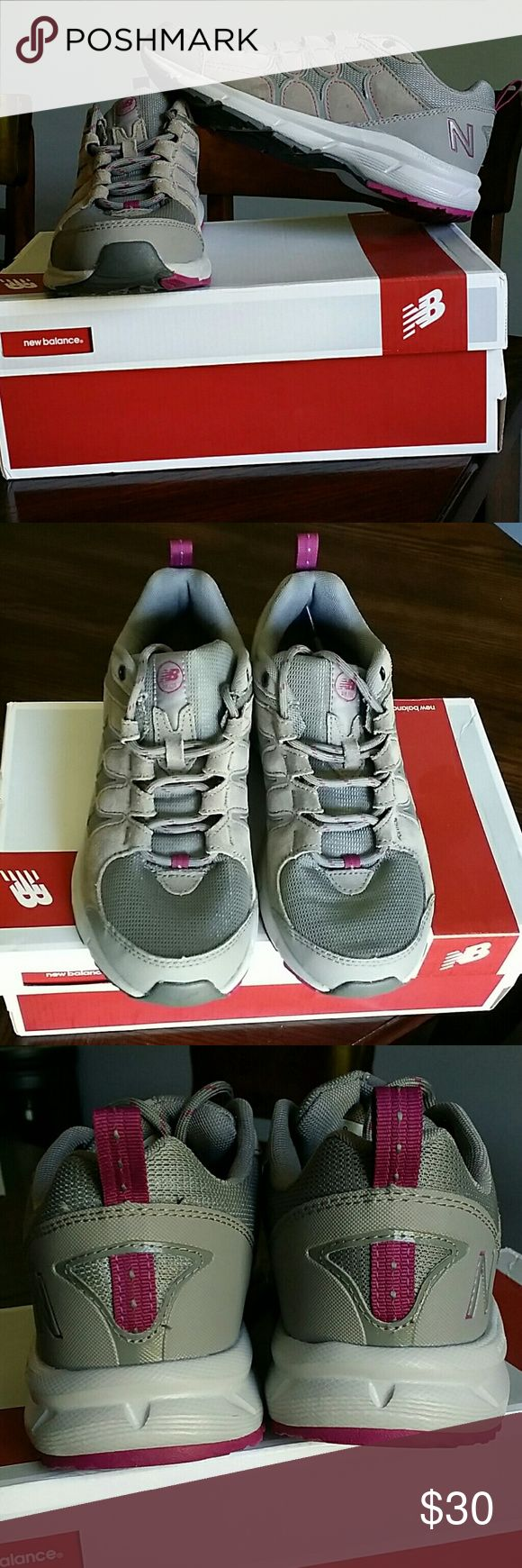 New Balance Randonnee Walking Shoes The New Balance Country Walking Randonnee Athletic feature a Suede upper with a Round Toe. The Man-Made outsole lends lasting traction and wear.   **Wide width** New Balance Shoes Athletic Shoes