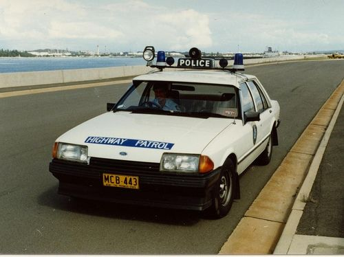 Ford Falcon 351ci Police Vehicle - 1983 by John von Sydney, via Flickr