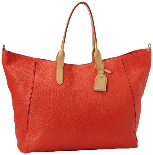 Cole Haan Crosby B41523 Tote,Orange Pop,One Size