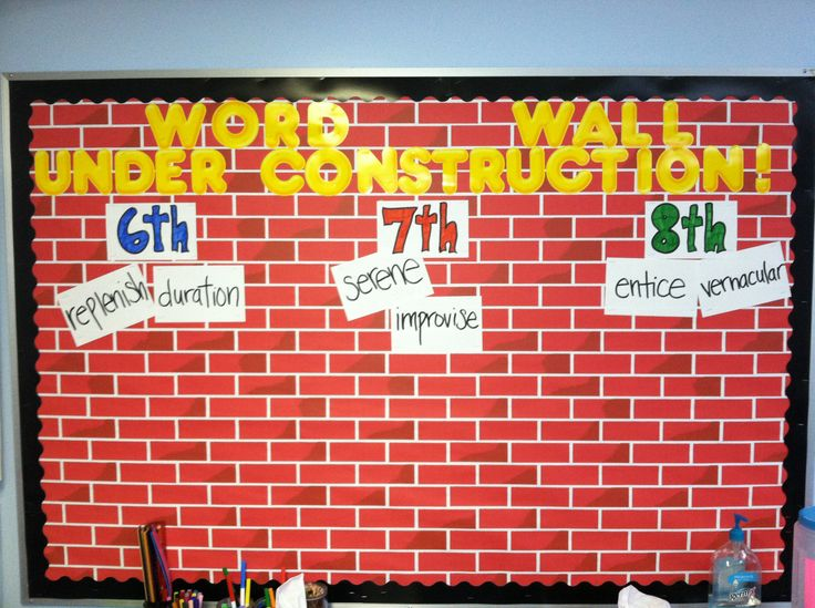 Classroom Word Wall Ideas ~ Best images about bulletin board ideas middle school