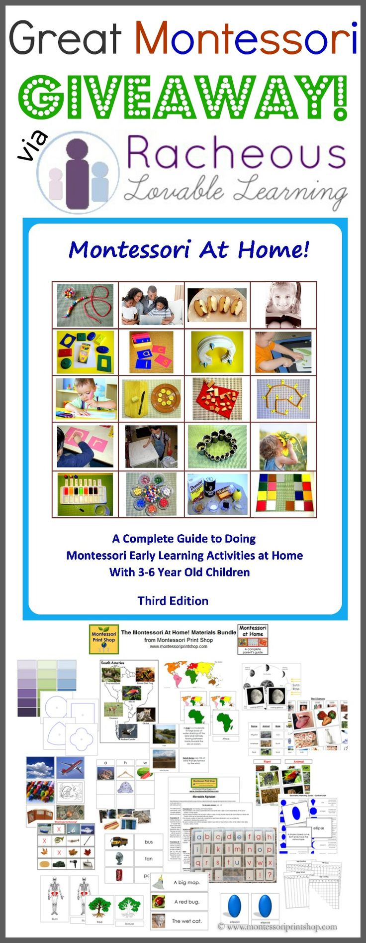 199 best giveaways images on pinterest incredible montessori at home ebook printables giveaway fandeluxe Image collections