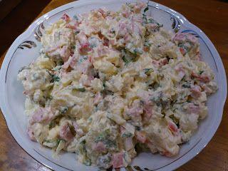 Olga's cuisine...και καλή σας όρεξη!!!: Σπέσιαλ πατατοσαλάτα!