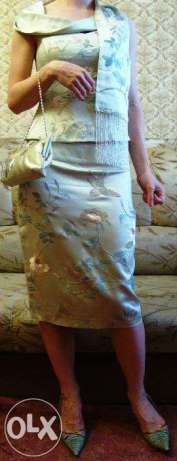 Люкс Лора Эшли Laura Ashley вышивка 100% шелк юбка топ клатч шарф 1000 Харків - зображення 6