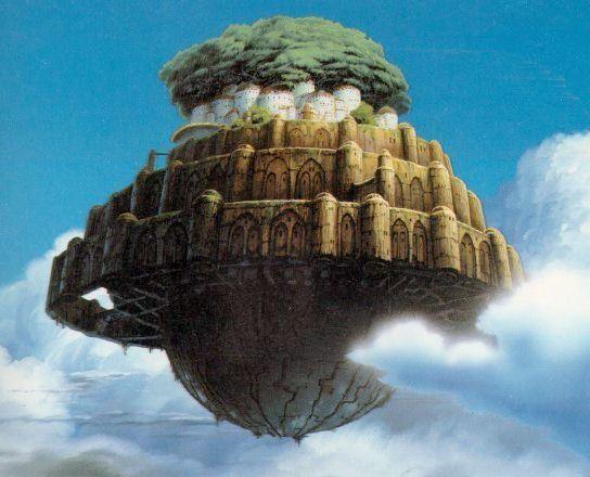 castle in the sky | Laputa--Castle in the Sky