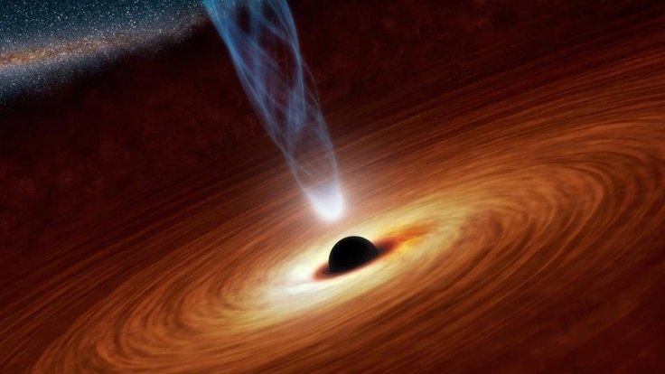 Supermassive black hole spins super-fast - Imagine a sphere more than 2 million miles across - eight times the distance from Earth to the Moon - spinning so fast that its surface is traveling at nearly the speed of light. Such an object exists: the supermassive black hole at the center of the spiral galaxy NGC 1365.