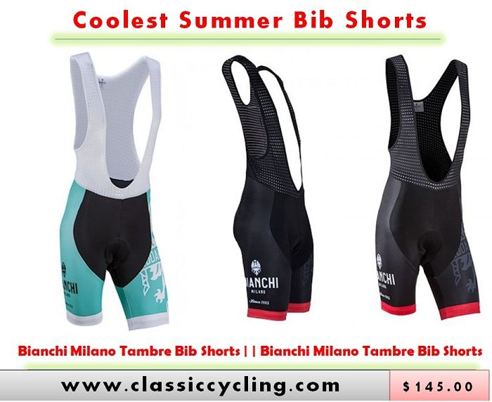 Best Bianchi Cycling Bib Shorts for Summer 2017 | Cycling