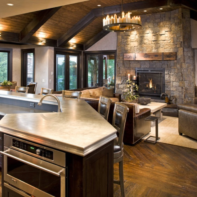 Love this kitchen living room design also rustic home interior design design pictures remodel decor and ideas page 2 by lynda
