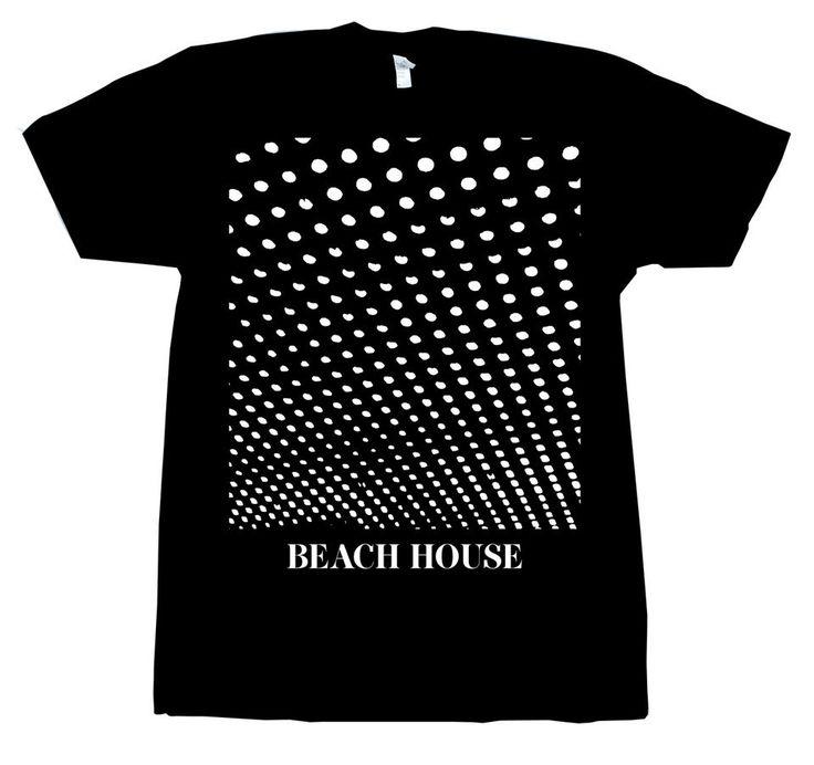 Beach House - Bloom Black T-Shirt
