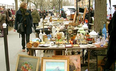 Paris Flea Market...amazing. I have some really cool stuff in my house from Paris flea markets, I left clothes in Paris to pack them but it was SO worth it! AP