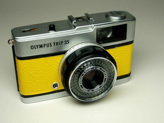 Olympus Trip 35 refurbished 1970s film camera by AfternoonTrain