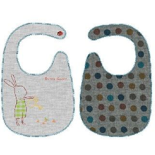 Maileg Bunny Honey Green Bib The Maileg collection has a unique authentic look and touch created by designer Dorthe Mailil. The collection emphasizes contemporary season concepts within decoration for Christmas and easter and a seperate collection for children.  $23.95 #easter #gift #bunny