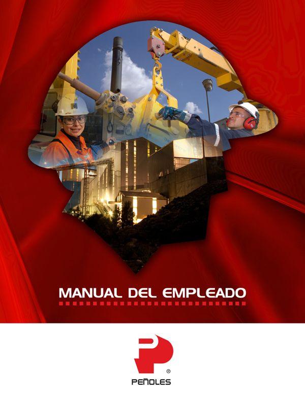 Manual del empleado. Peñoles. by abeja marketing, via Behance