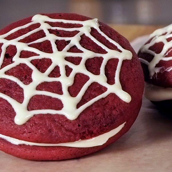 Red velvet may have started as a cake, but the popular flavor has made its way into cookies, ice cream, and now whoopie pies filled with a cream-cheese-marshmallow icing. Description from popsugar.com. I searched for this on bing.com/images