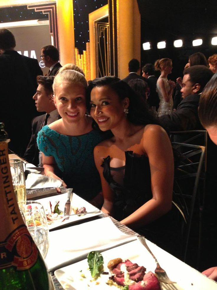 Heather Morris and Naya Rivera