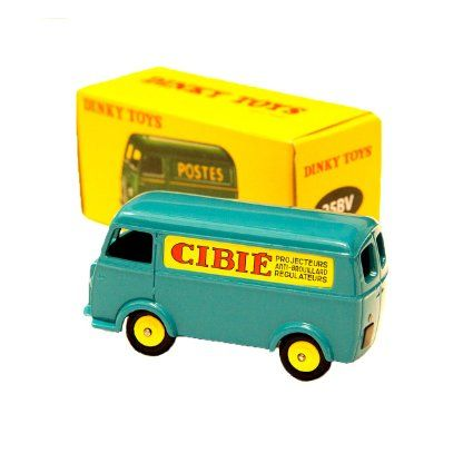"Dinky Toys Atlas No.25BV Peugeot D3A ""CIBIE"""