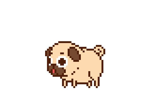 Puglie! Puglie! Puglie!Thank you Gabe Telepak for this amazing animation of Puglie!Love pugs? Love games? Keep your eyes peeled for Butt Sniffin' Pugs!You might see a special little pug cameo in the game in the future ;]